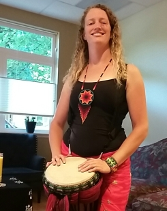 Dancing Heart Turtle Drum (2)